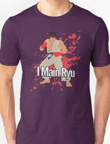 I Main Ryu - Super Smash Bros. Unisex T-Shirt