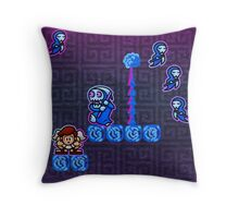 Reaper and Reapettes Throw Pillow