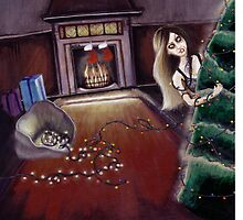 BLACK XMAS: Brighten up the Christmas lights by ROUBLE RUST