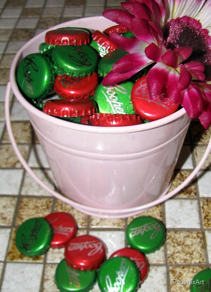 Bucket Full of Fun by PhoenixArt
