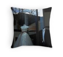 Who Wears The Pants?   Throw Pillow