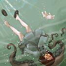 Falling, Drowning by Chelsea Greene Lewyta