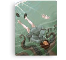 Falling, Drowning Canvas Print