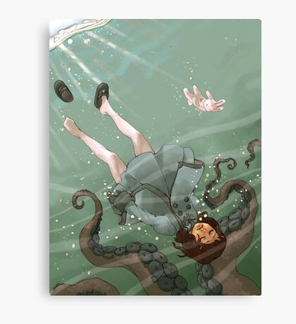 Falling, Drowning Canvas Print