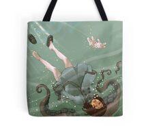 Falling, Drowning Tote bag