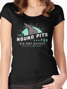 Dishonored - The Hound Pits Pub Women's Fitted Scoop T-Shirt