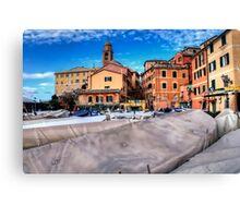 Nervi Genoa Canvas Print