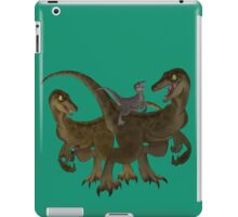 Velociraptor Family iPad Case/Skin