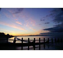 Portobello Sunset Photographic Print