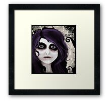 Dear little doll series... VALERIE Framed Print