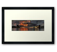 Underneath The Arches - Moods Of A City - THe HDR Experience Framed Print