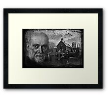 The Priest & The Kirkyard Framed Print