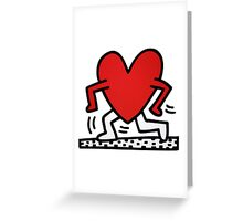 running love keith Greeting Card
