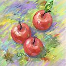 Still life with apples. by Svetlana Mikhalevich