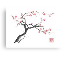 New hope sumi-e painting Canvas Print