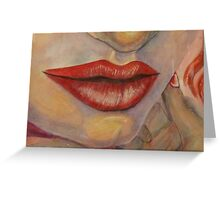 Mouth  Greeting Card