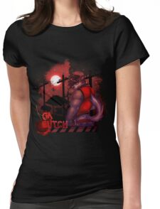 Night Whisper Womens Fitted T-Shirt