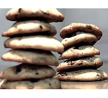 cookie pile Photographic Print