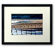 The Shore at Sandsend Framed Print
