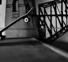 Monochrome skate 1 by scottsphotos