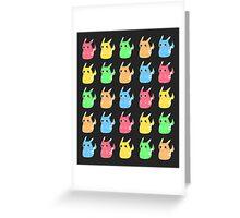 Pattern Pika Greeting Card