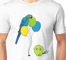 Bird Balloon Unisex T-Shirt
