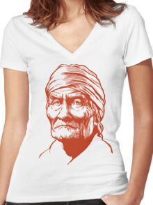 Geronimo Women's Fitted V-Neck T-Shirt