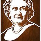 Maria Montessori by LibertyManiacs