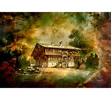 German cottage..... Photographic Print
