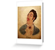 Viago - What We Do In The Shadows Greeting Card