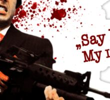 """""""Say Hello To My Little Friend"""" - Scarface Sticker"""