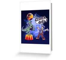 Raptor Training Greeting Card