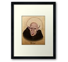 Petyr the Vampire - What We Do In The Shadows Framed Print