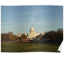 Capital Building - Washington DC Poster
