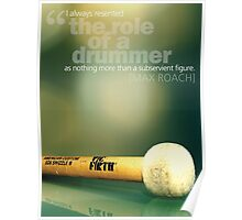 The Role Of The Drummer Poster
