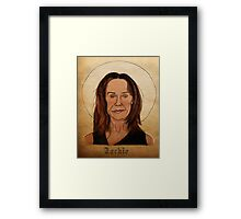 Jackie the Familiar - What We Do In The Shadows Framed Print