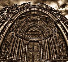 HDR Westminster Abbey Door by Dane Walker