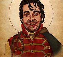 Deacon the Vampire - What We Do In The Shadows by catshrine