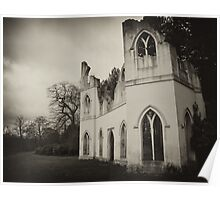 Abbey Ruin Poster