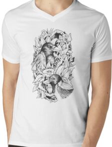 Bird's Nest Mens V-Neck T-Shirt