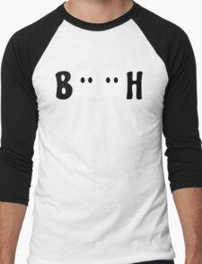 Booh Ghosts Men's Baseball ¾ T-Shirt