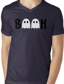 Booh Ghosts Mens V-Neck T-Shirt