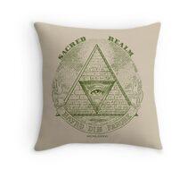 Sacred Realm Throw Pillow