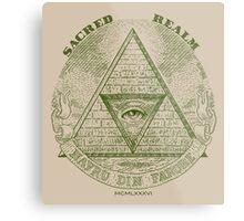 Sacred Realm Metal Print
