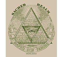 Sacred Realm Photographic Print