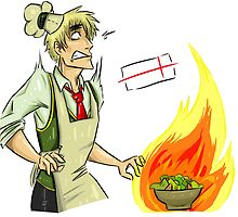 English cooking is the best cooking. APH: Arthur Kirkland by Alana Bell