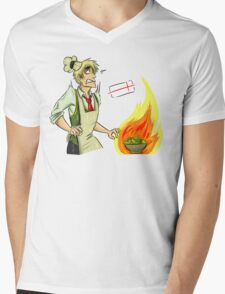 English cooking is the best cooking. APH: Arthur Kirkland Mens V-Neck T-Shirt