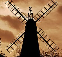 West Blatchington Windmill by JulesPH