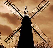 West Blatchington Windmill by JulesPH