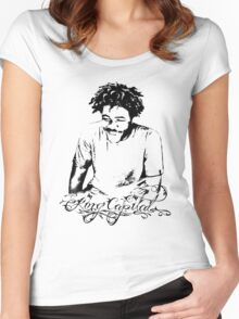 Cap Steez Women's Fitted Scoop T-Shirt